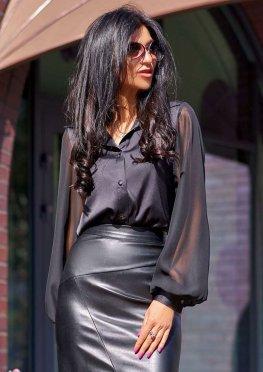 Блуза Самира черный