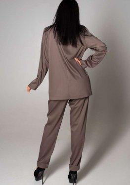 Костюм Тимми c брюками коричневый