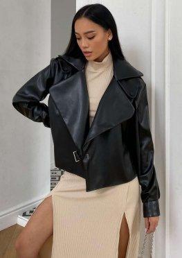 Куртка Дейт с подкладкой черный