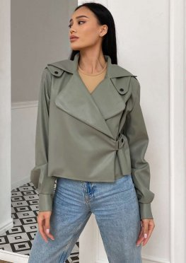 Куртка Дейт с подкладкой оливка