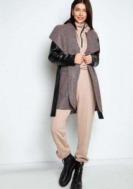 Облегченное пальто Отто серый