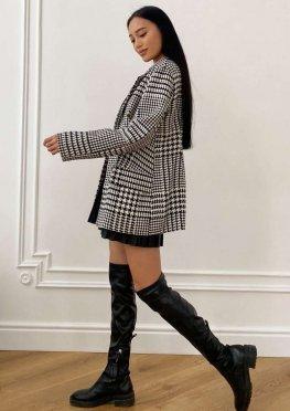 Пиджак на подкладке Версаль черный