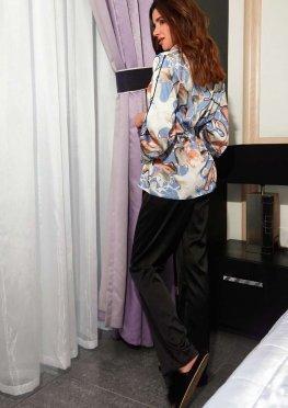 Пижама Аква голубой