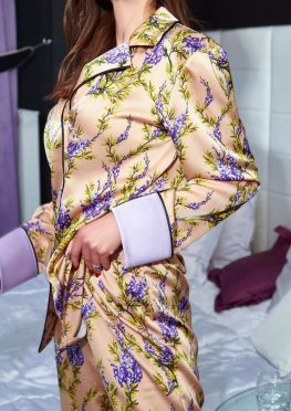 Пижама Бель золото