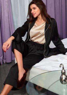 Пижама Бонна черный