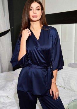 Пижама Лионе тёмно-синий