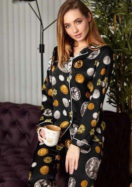 Пижама Моне черный