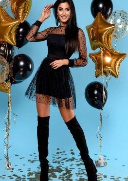 Платье Асель черный