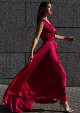 Платье Фурор красный