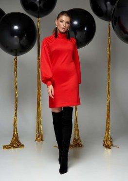 Платье Холли красный