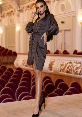 Платье Квинта Шоколад