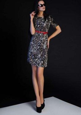 Платье Лайт без пояса серый