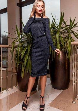 Платье Моратти тёмно-синий