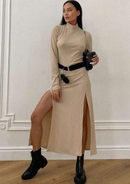 Платье Рената XXl бежевый