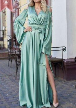 Платье Виктория оливка