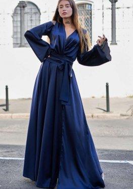 Платье Виктория тёмно-синий