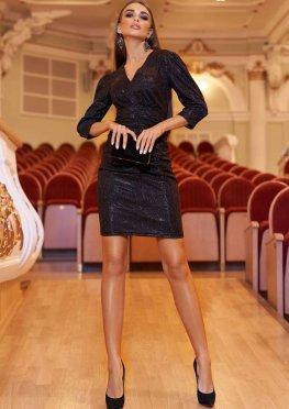 Платье Вивьен черный