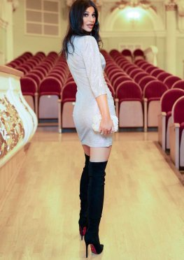 Платье Вивьен серебро