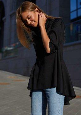 Рубашка Квелли черный