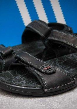 Сандалии мужские в стиле Adidas Summer, черные (13311),  [  44 (последняя пара)  ]
