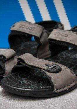 Сандалии мужские в стиле Adidas Summer, серые (13312),  [  41 42 43 44  ]