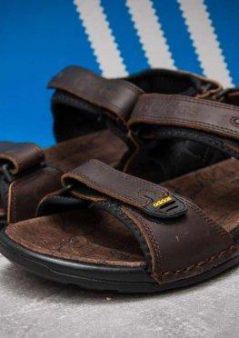 Сандалии мужские в стиле Adidas Summer, коричневые (13313),  [  43 (последняя пара)  ]
