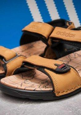 Сандалии мужские в стиле Adidas Summer, песочные (13314),  [  43 44  ]