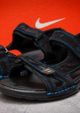 Сандалии мужские в стиле Nike Summer, черные (13322),  [  43 44  ]