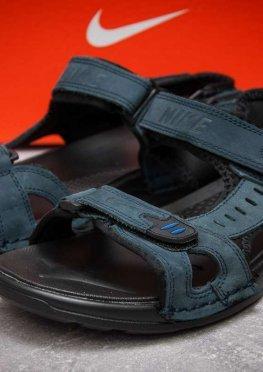 Сандалии мужские в стиле Nike Summer, темно-синий (13323),  [  43 44  ]