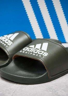 Шлепанцы мужские в стиле Adidas FlipFlops, хаки (13512),  [  40 41 42 43  ]