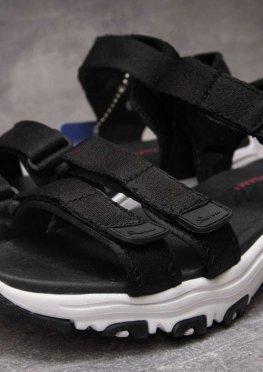 Сандалии женские Skechers D'Lites, черные (13601),  [  36 (последняя пара)  ]