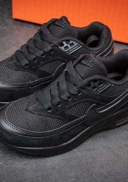 Кроссовки детские в стиле Nike Air Max , черные (2538-1),  [  31 32 33  ]