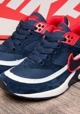Кроссовки детские в стиле Nike Air Max , темно-синий (2538-4),  [  33 (последняя пара)  ]