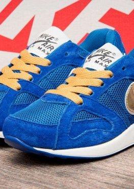 Кроссовки детские в стиле Nike Air Max , синий (2539-3),  [  31 33  ]