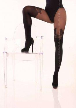 Jorianna 40 den Black Livia Corsetti Fashion