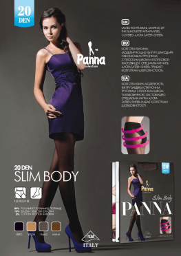 Slim Body 20 den Panna