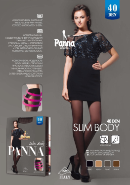 Slim Body 40 den Panna