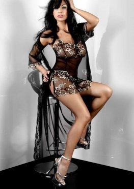 Hera Dressing Gown Livia Corsetti Fashion