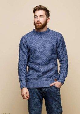 Мужской свитер Аскольд светло синий