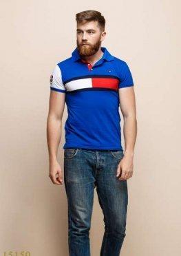Мужская футболка 15150 электрик