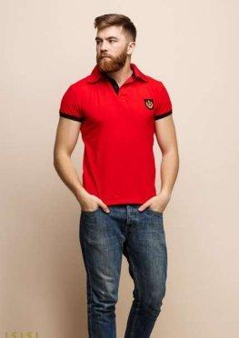 Мужская футболка 15151 красный
