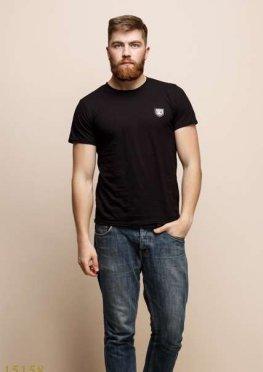 Мужская футболка 15158 черный