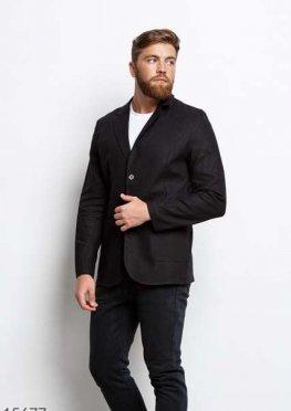 Мужской пиджак 15677 черный
