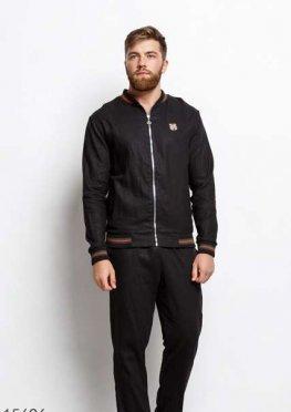 Мужской костюм 15696 черный