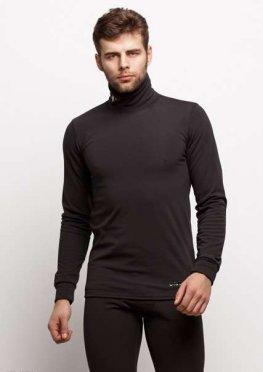 Мужской термо костюм 17471 черный