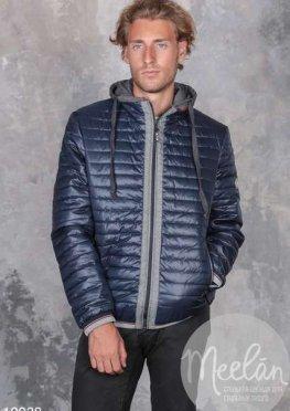 Мужская куртка 19938 синий