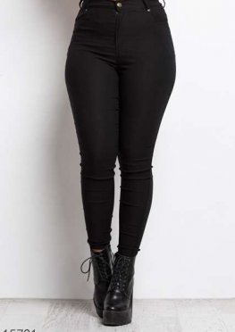 Женские джинсы 15721 черный