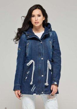 Mila Nova Джинсовая куртка-жакет Q-16