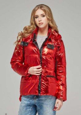 Mila Nova Куртка К-65 металлик Красный