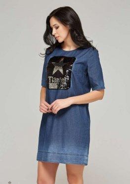 Mila Nova Джинсовое платье Ф-55